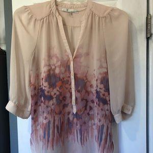 Lauren Conrad's Floral Blouse